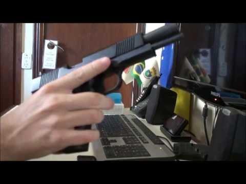 1911 e dimensões da pistola Imbel MD2 GC (vídeo resposta)