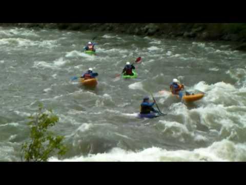 Yellowstone Rafting -Geyser Whitewater.mpg