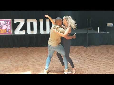 SSZF2018: Fernanda & Carlos in Friday workshop demo ~ Zouk Soul