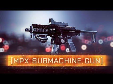 ► BF4 MPX SUBMACHINE GUN!   Battlefield 4: Dragon's Teeth Weapon Review