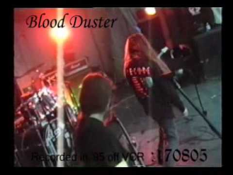 Bloodduster - Where Fear Ends