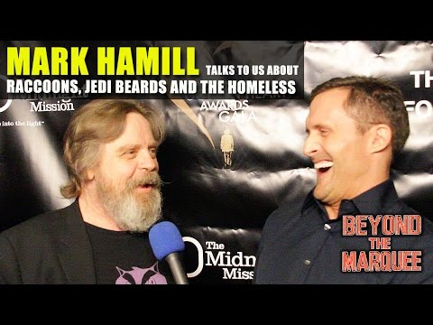 Mark Hamill discusses Raccoons, Jedi Beards & the Homeless