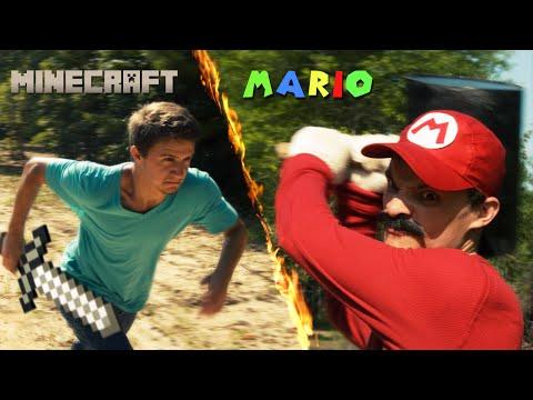 Minecraft pret Mario