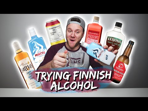 TRYING FINNISH ALCOHOL | Part 4 | Taste Test Tuesday