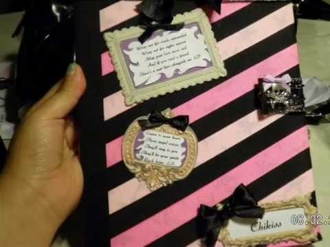 Grav3yardgirl back to school contest entry diy notebook for Back to school notebook decoration ideas