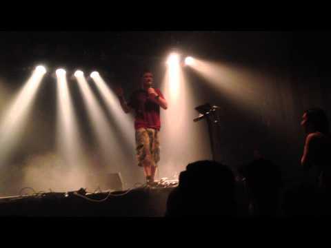 Dub FX feat MC Cade live @ VK (Brussels) - 6 Feb 2014