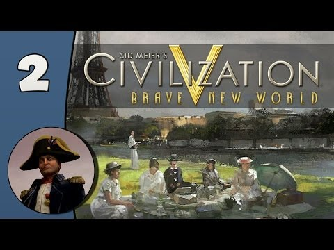Civilization V Daily #2: France - Part 2