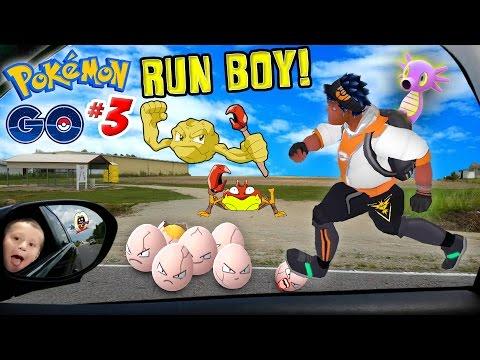 POKEMON GO Weight Loss?? RUN BOY!! (FGTEEV Duddy Trains the Trainer in Myrtle Beach Part 3 Gameplay)