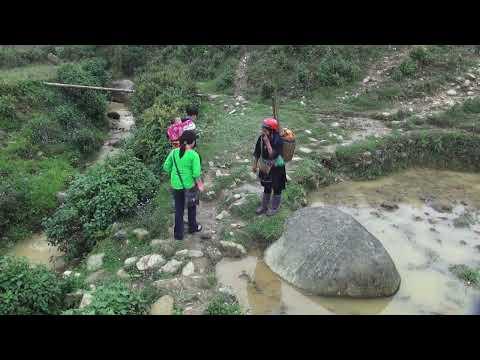 Travel - 2013 trip to Sapa, Vietnam P13. Rov mus saib Hmoob Sapa. (HD)