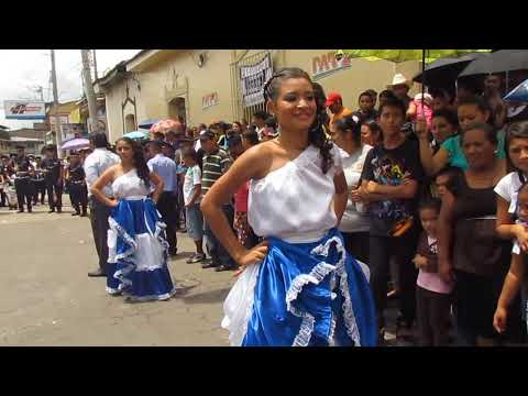 Ilobasco - Desfile 15 Sept. 2013 - Parte Final - HD