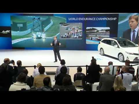 TOYOTA Press Conference at the 83rd Geneva International Motor Show