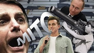 Fábio Rabin - Bolsonaro e as armas  / Putin / Luciano Huck