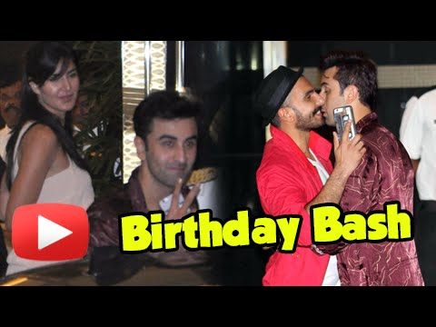 Ranbir, Katrina, Ranveer, Sonam At Arjun Kapoor's Birthday Bash! - Watch Now