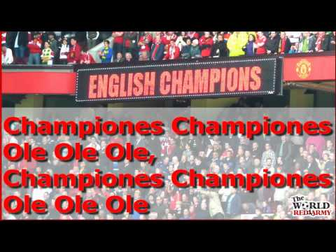 Glory Glory Man United Medley - The World Red Army