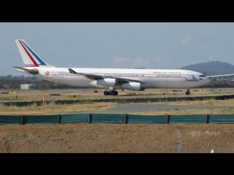 G20 Brisbane Airport Plane Spotting (Part 1) FRIDAY MORNING ARRIVALS