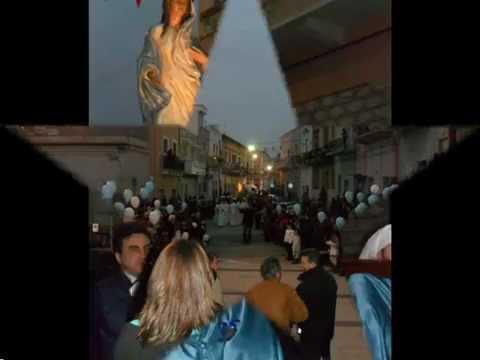 San Giorgio Jonico accoglie l'immagine di Maria di Nazareth – 26 Febbraio 2012