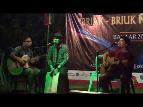 Pak Boss (Acoustic Version by Qupit Nosstress) Live at Bazaar Tirta Manik 2016