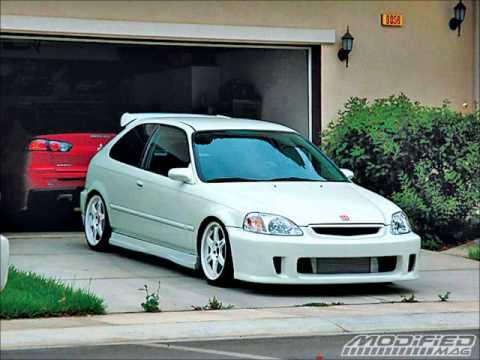 Civic Hatchback Modified >> Honda Civic Ek Tribute - YouTube