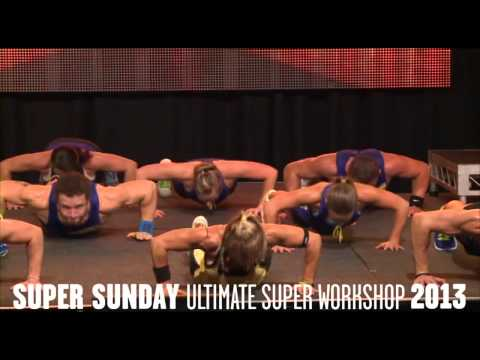 Les Mills Bodyattack® 81 At Super Sunday 2013 video