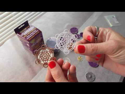 Tutorial 1: How to Make Your Own Sacred Geometry Silicone Molds For Orgone Orgonite Resin Pendants