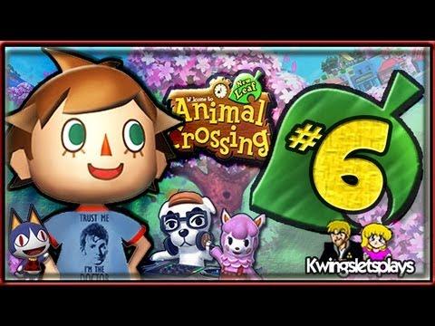 Animal Crossing New Leaf - Walkthrough Part 6 Visiting Kwife in Gotham!