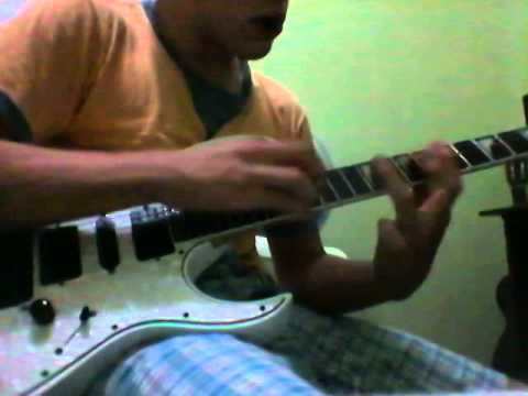 guitar flash andragonia cover (tapping)
