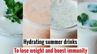 Homemade summer special cool drinks to lose weight and boost immunity,Immunity booster summer drinks