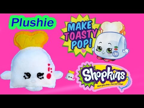 DIY Shopkins Season 2 Toasty POP Plushie TOY Craft Make & Do It Your Self How To Video Cookieswirlc