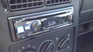 Audio System HX 10 SQ mit Audio System MX 120 2 im Polo 6n