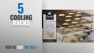 Top 10 Cooling Racks [2018]: Wilton Excelle 3 Tier Cooling Rack Boxed