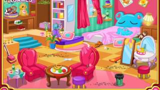 Clean My Room video for kids-Cleaning Game-Girls Games