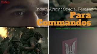 Indian Army Special Forces Para Commandos
