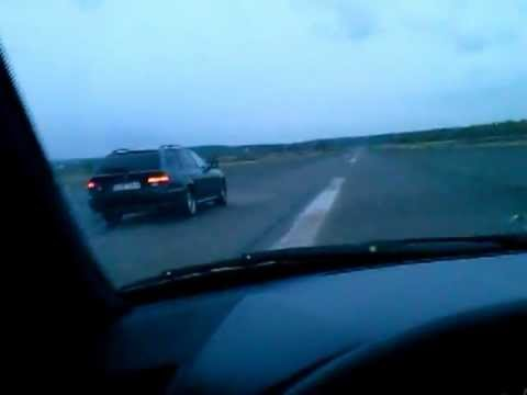 Bmw 530d 193 vs Mercedes W210 E300 177 vs Audi a6 2.5 180