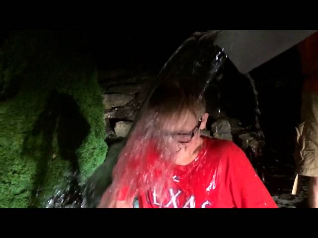 Sam's ice bucket challenge