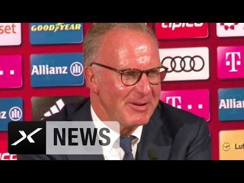 Karl-Heinz Rummenigge lobt Mats Hummels und EM-Held Renato Sanches | FC Bayern München