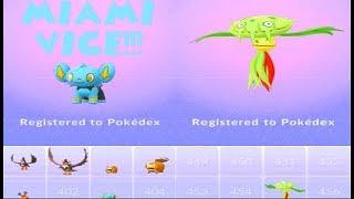 Pokemon Go Sinnoh 4th Gen Wild Carnivine & Shinx Raid