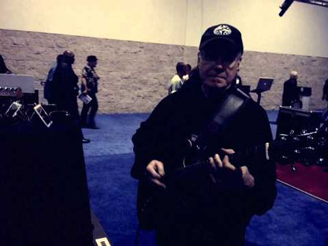 Dean Parks at the NAMM Show 2012