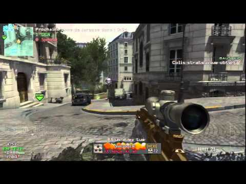 Tentative Quad Feed en Zone de Largage sur MW3