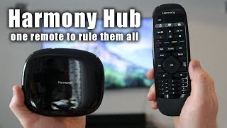 Harmony Hub Setup, the SMART Universal Remote