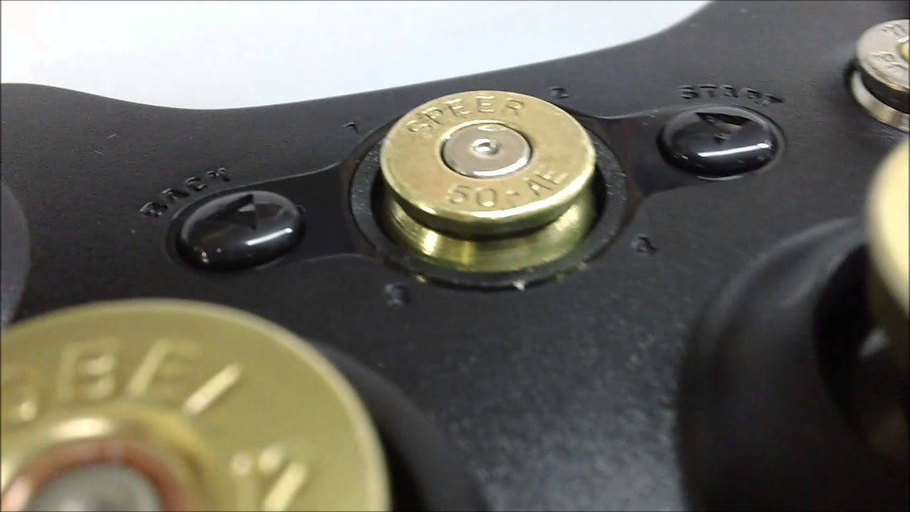 Xbox Controller Custom Buttons NEXiLUX REAL BULLET BUTTONS
