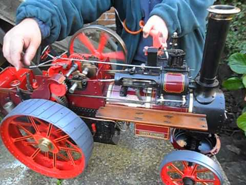 Building The Allchin Traction Engine