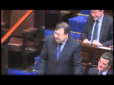 Brian Cowen and Eamon Gilmore talk about The Mire