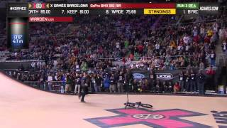 Zack Warden wins BMX Big Air