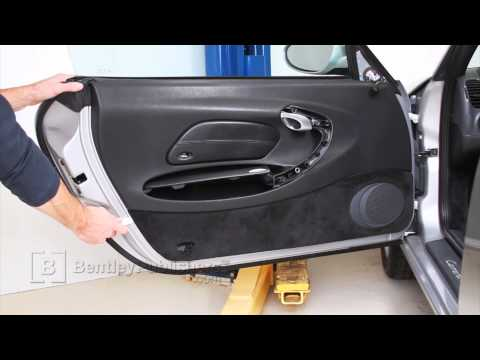 Porsche 911 Carrera (996) 1999-2005 - Door panel - DIY Repair