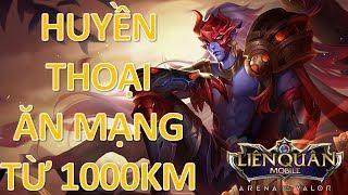 """Huyền thoại """" Tên Thần """" ăn mạng từ 1000 KM - Top xạ thủ leo rank Mùa 6: Yorn Thế tử nguyệt tộc"""
