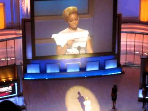 Rihanna Accepts Glamour Award