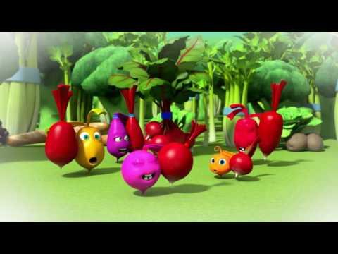 Прикольный мультик «Овощная вечеринка» - Вот это редька! (103 серия)