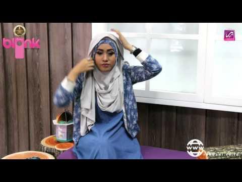 Rabbani Hijab Tutorial - Kerudung Fatin Blonk Rib (Part1) - YouTube