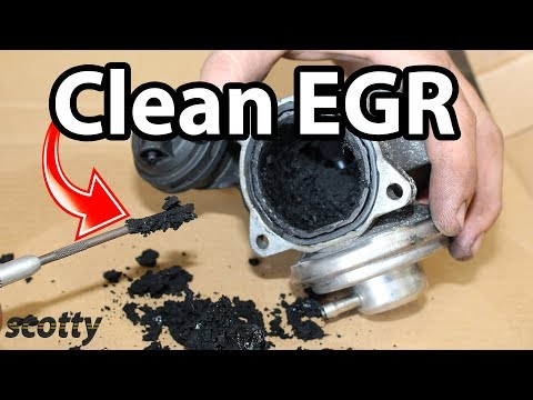 Fixing EGR Low Flow Code P0401