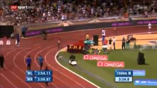 Ethiopian Athlete Genzebe Dibaba Breaking World Record Of Women's 1500m IAAF Diamond League Monaco